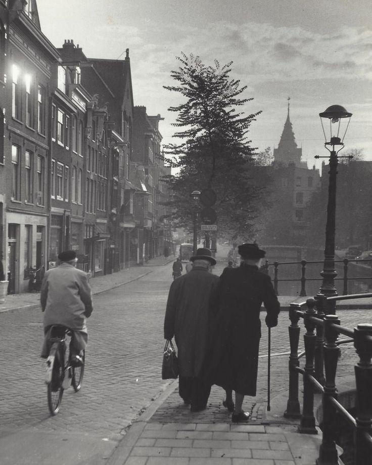 ouder echtpaar Amsterdam
